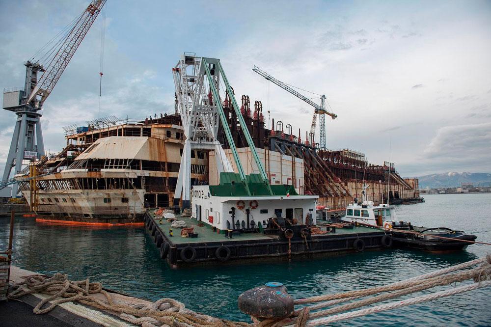 Concordia Wreck