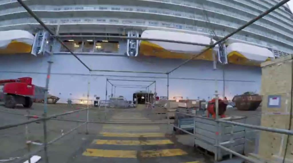 Video Footage By: Royal Caribbean