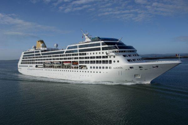 Adonia Cruise Ship (PRNewsFoto/Carnival Corporation & plc)