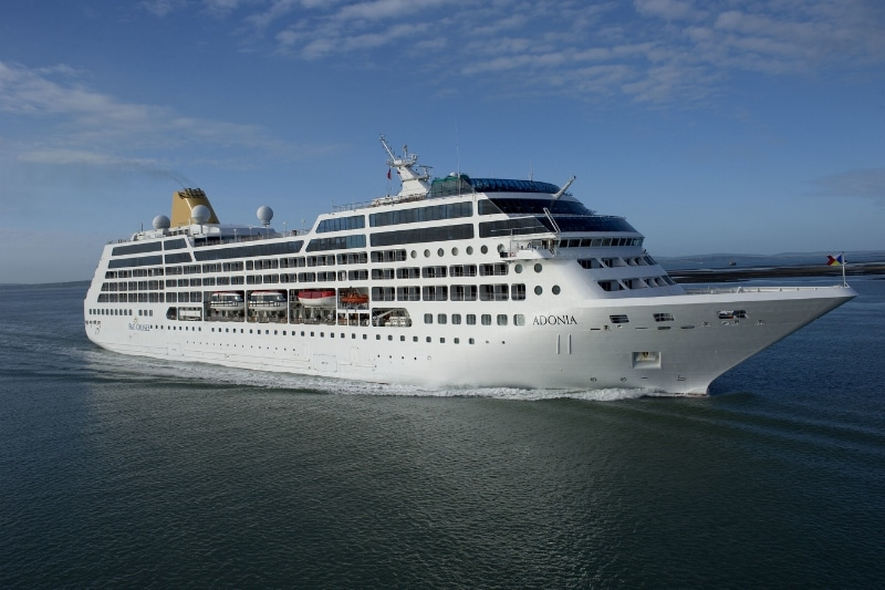 Adonia Cruise Ship (PRNewsFoto/Carnival Corporation & plc)