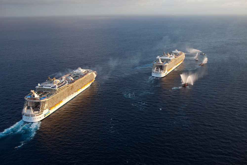 An Oasis Class Cruise Ship Could Be Sailing From Japan