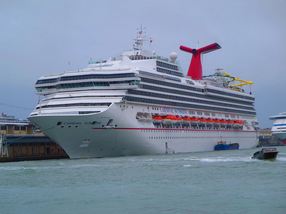 Gastro Bug Spreads Onboard Carnival Sunshine