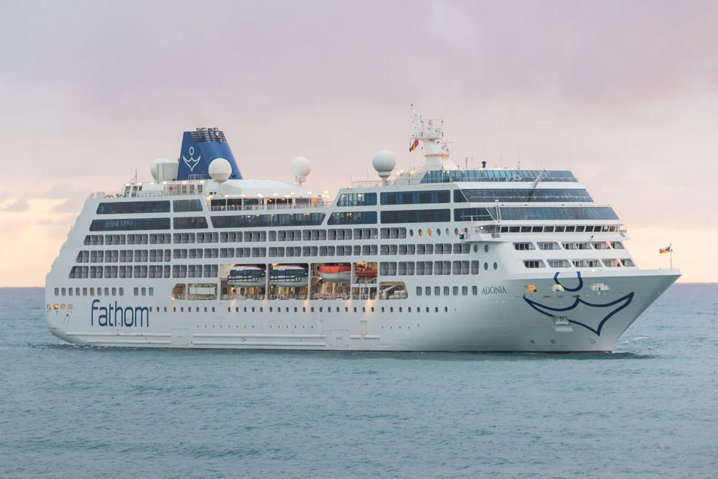 Carnivals Fathom Cruise Line To Stop Sailing In - Adonia cruise ship
