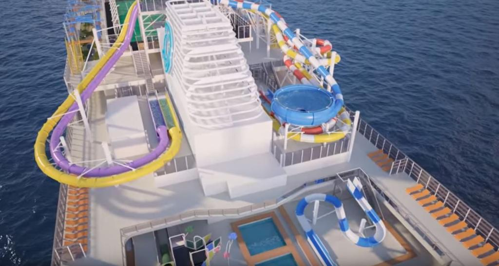 new rendering video released of genting dream