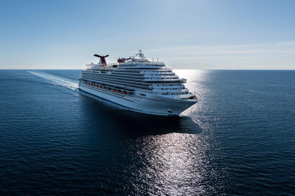 Carnival Vista Sea Trials  Cruise Hive