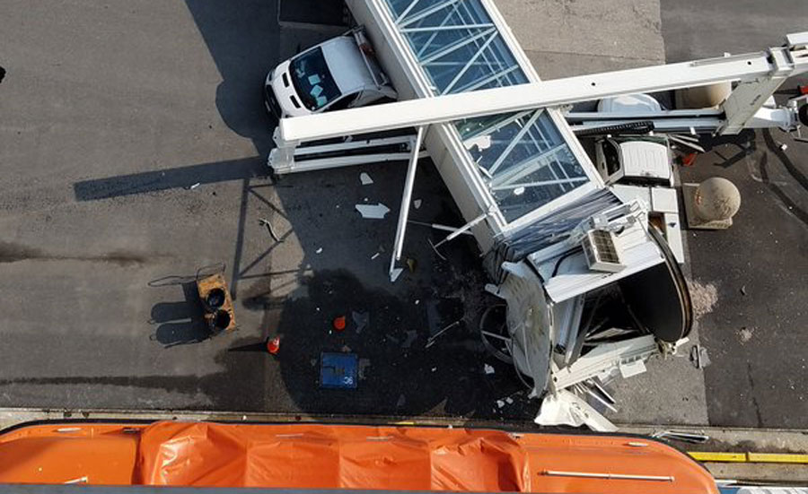 Carnival Pride Cruise Ship Crashes While Docking, No Injuries Reported