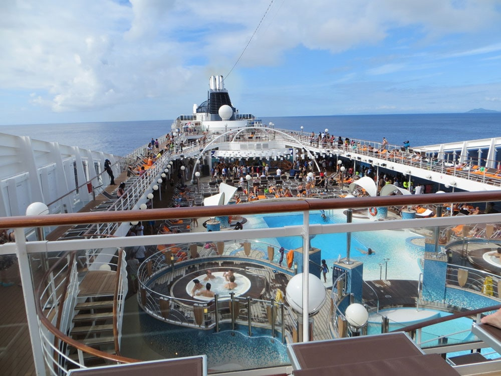 MSC Cruises Deck