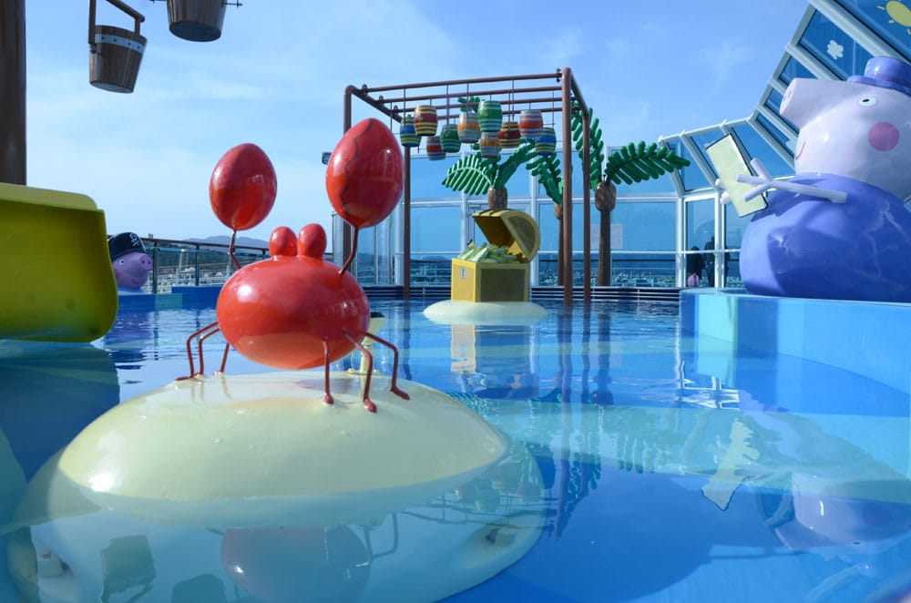 Life Is Complete Peppa Pig Is Now On Costa Diadema