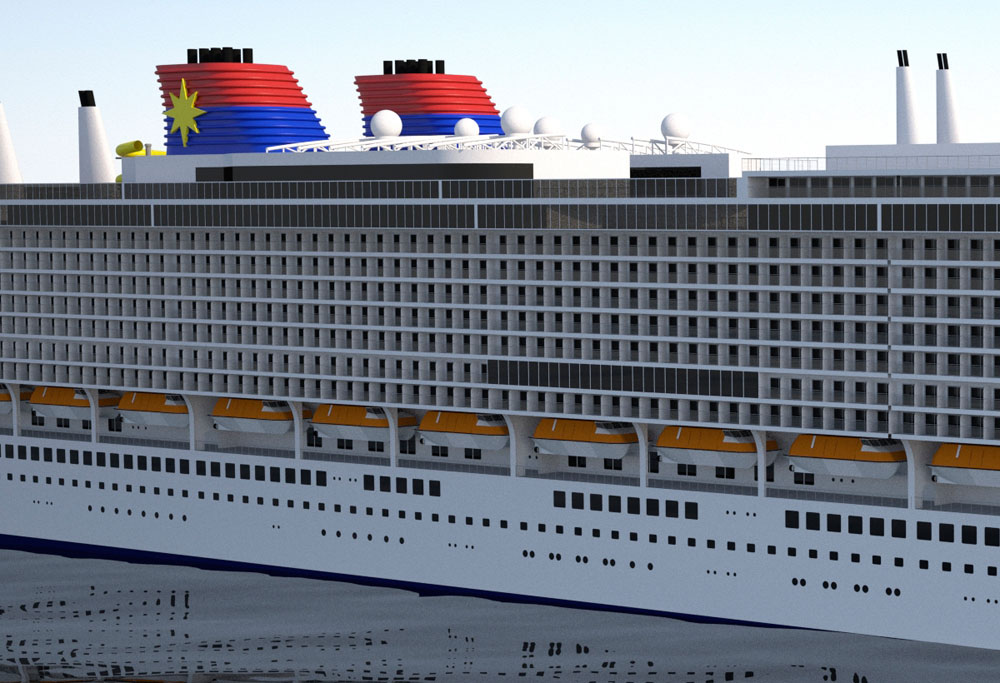 Genting Hk Signs An Order For 10 Cruise Ships Worth 4