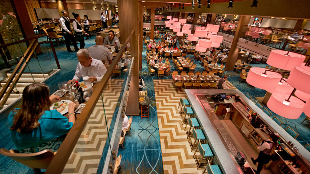 Carnival Vista Steps Up Its Dining And Bars With International Diversity