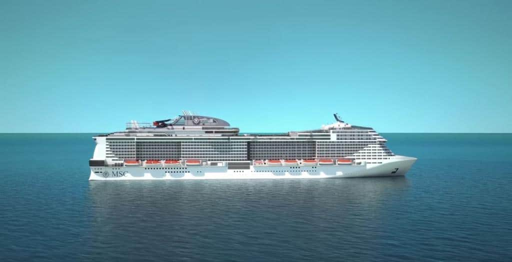 the cruise liner announced that its newest ship msc meraviglia which