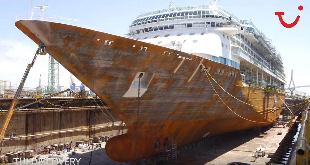 Watch As Splendour Of The Seas Is Transformed To Tui Discovery