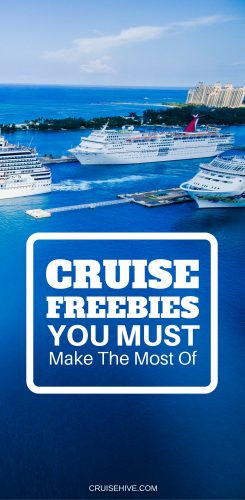 Cruise 'Freebies' You Must Make the Most Of