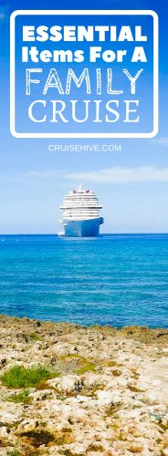 You need your cruise vacation to go along without any issues so best be prepared for everyone! Here are some tips on items for a family cruise.