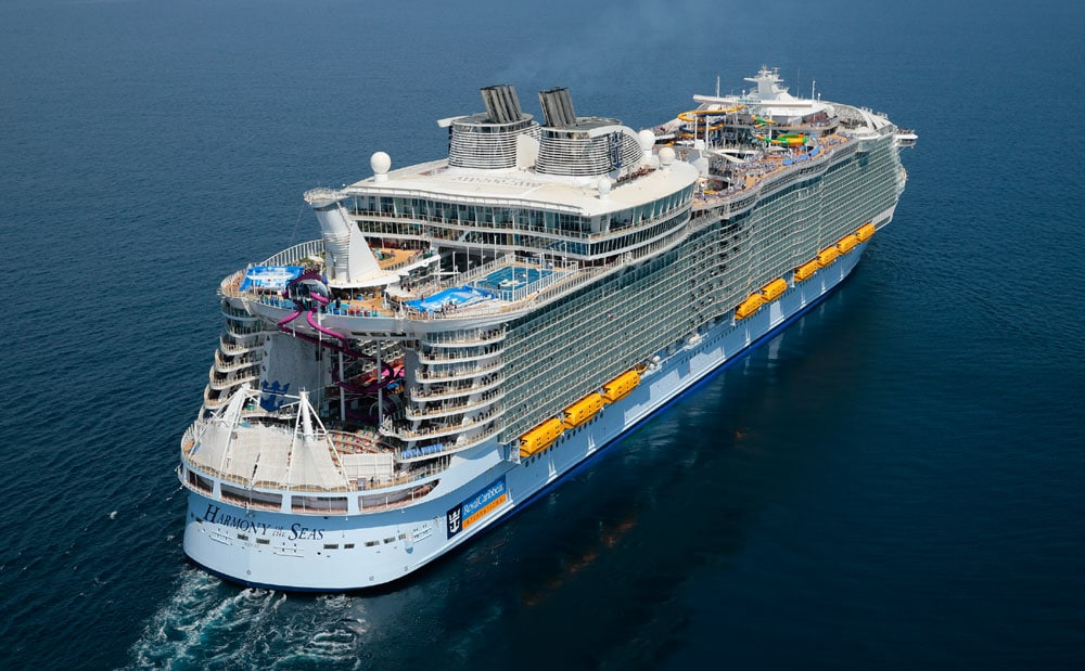 Biggest Cruise Ship In The World Begins Sailing From Barcelona