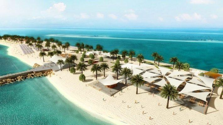 Sir Bani Yas Island Beach Oasis