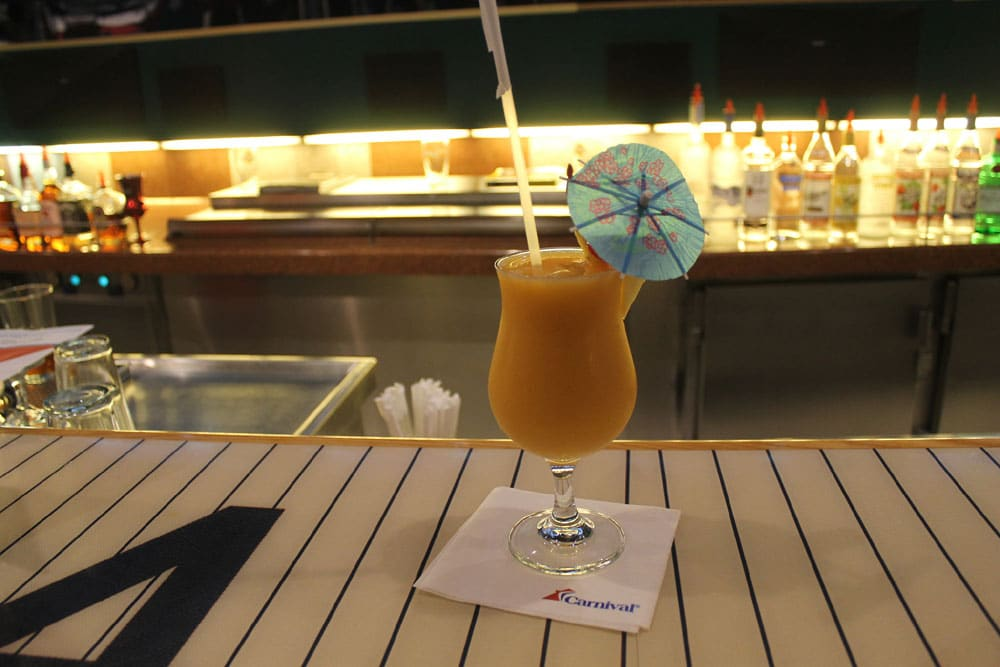 Carnival Cruise Drink