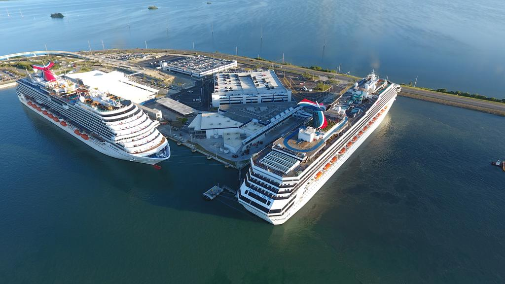 Carnival Valor Is First Cruise Ship To Dock At Upgraded Port Canaveral Terminal
