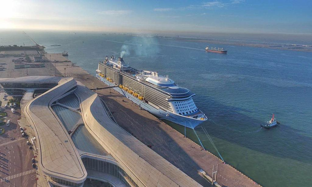 Ovation Of The Seas Christened In China By Famous Chinese