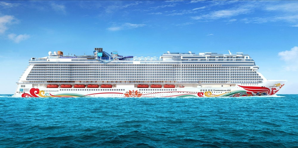 norwegian joy wins most anticipated new cruise ship in 2017