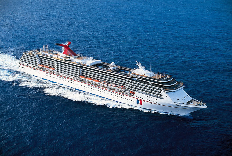 Carnival Cruise Ship Lists Unexpectedly After Technical Issue