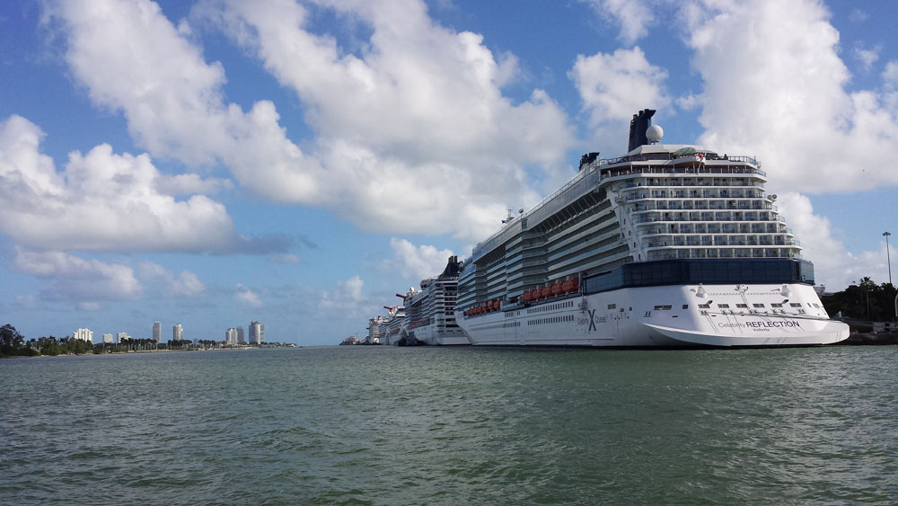 Things Crew Members Do When The Cruise Ship Is In Miami - How many crew members on a cruise ship