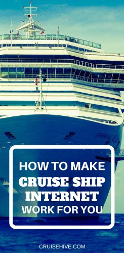 How To Make Cruise Ship Internet Work For You Cruise WiFi Tips - Internet connection on cruise ships