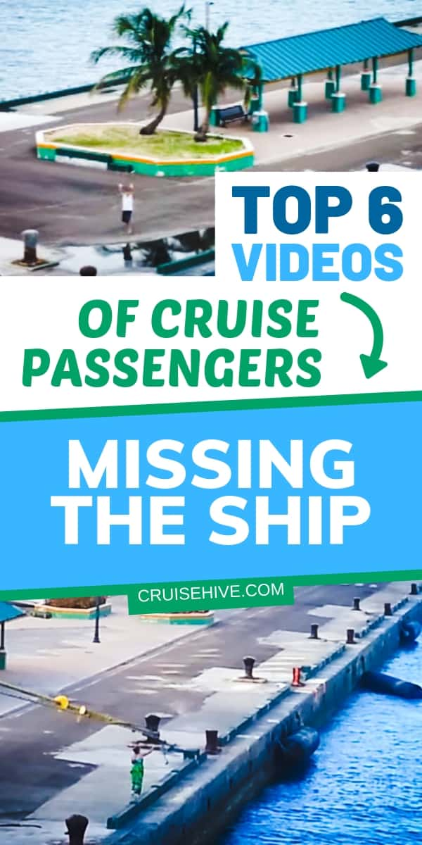 Take some important cruise travel advice and never miss the ship! Watch these videos of passengers doing just that. You wouldn't want to be left in port with nothing.