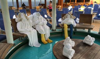 Carnival Towel People