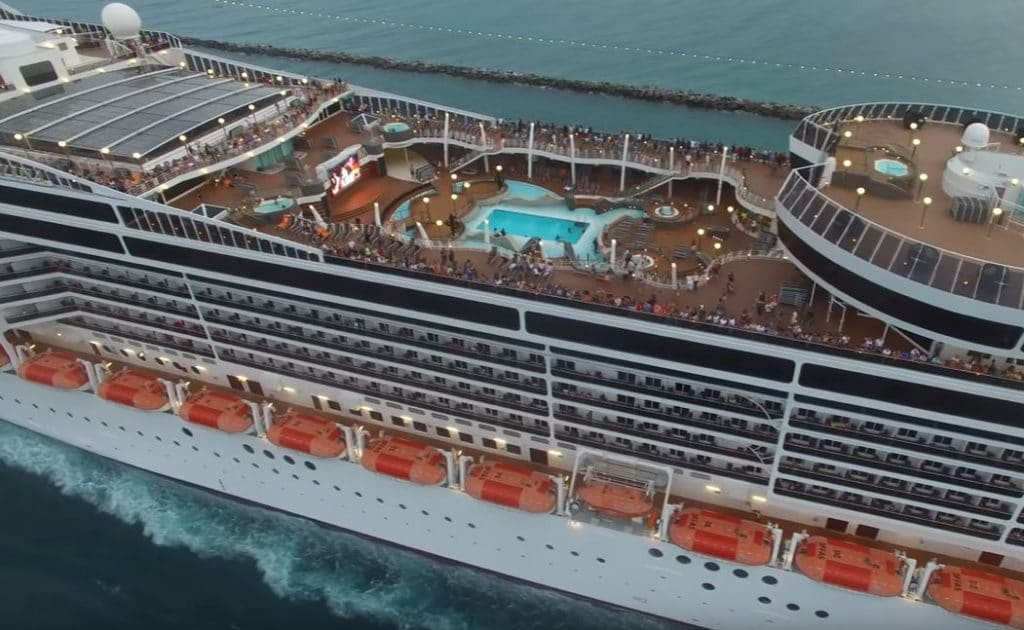 Msc Cruises Largest Ship Departs Miami For The Caribbean
