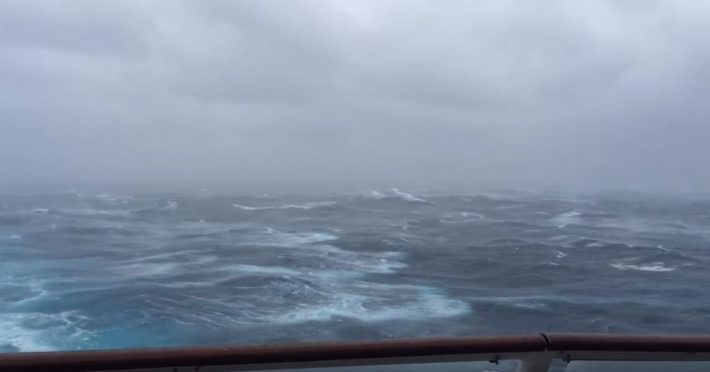 Hermine provides another rough ride for Anthem of the Seas