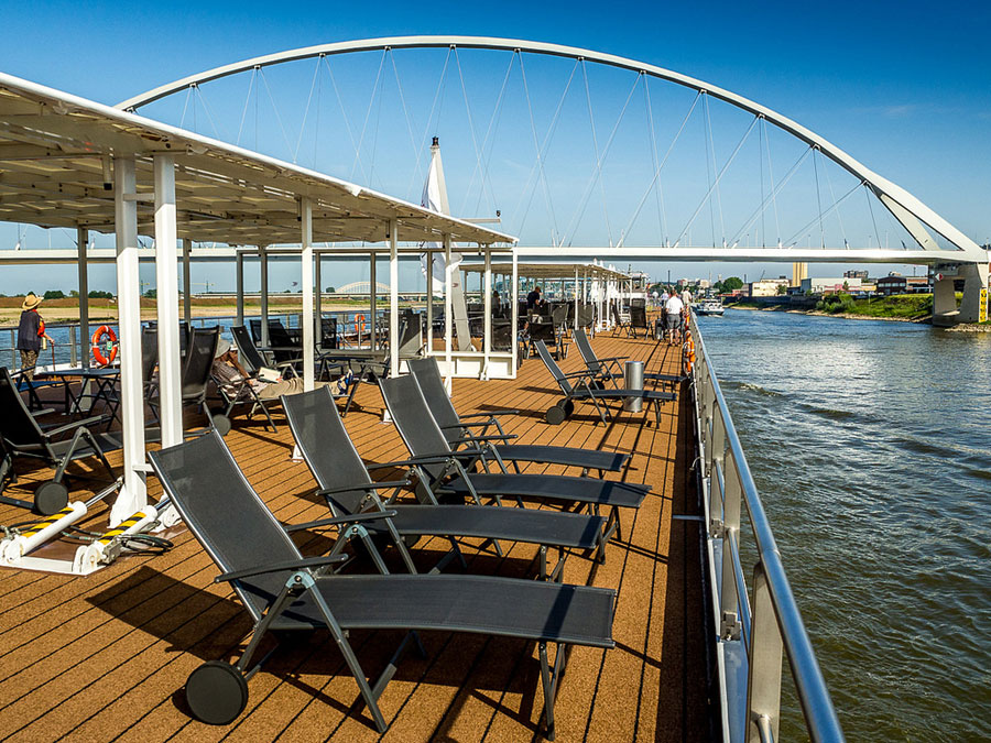 River Cruise Deck