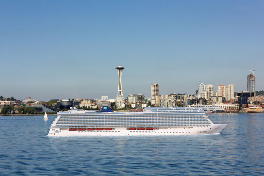 Norwegian Bliss To Sail Alaska Out Of Seattle From June 2018