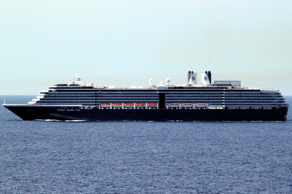 Another Holland America Cruise Ship Aces Inspection - Ms oosterdam