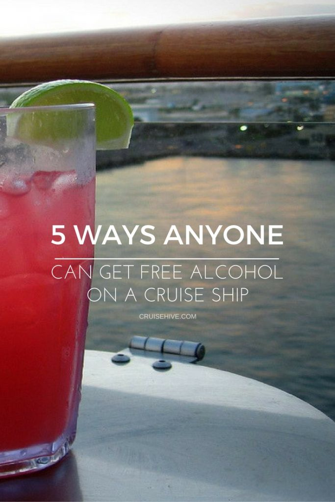 Free Alcohol On a Cruise