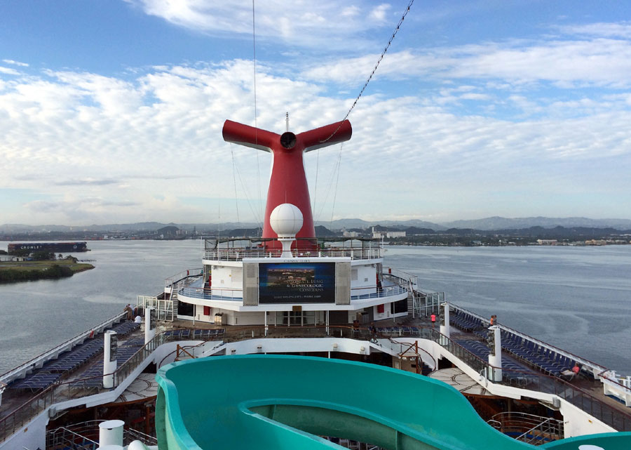 Carnival Cruise Deck