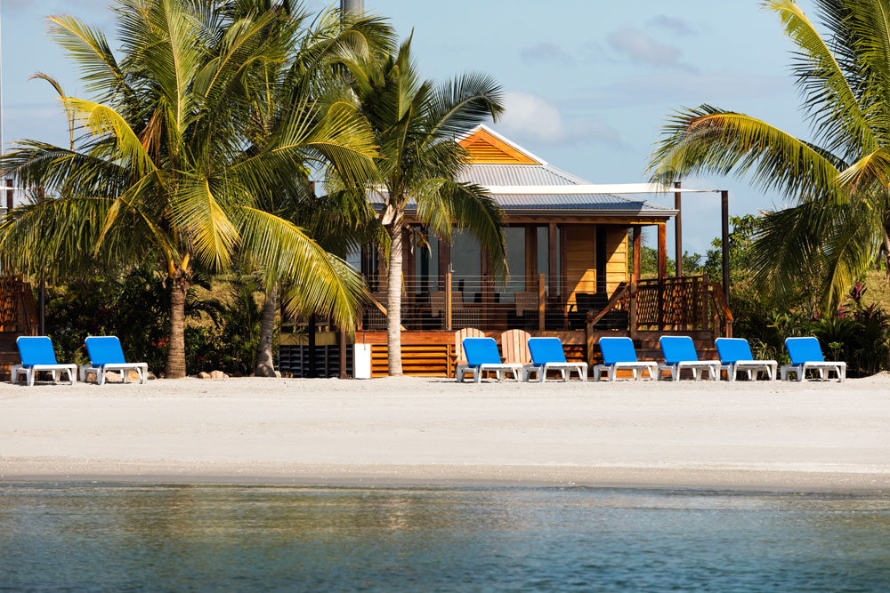 Harvest Caye Private Island