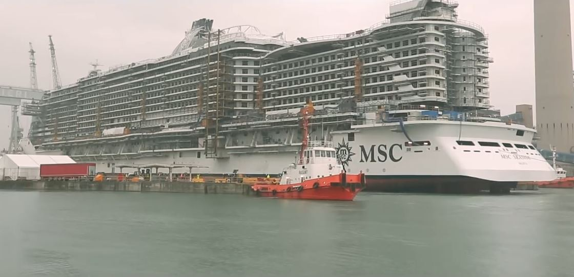 watch msc seaside float out highlights