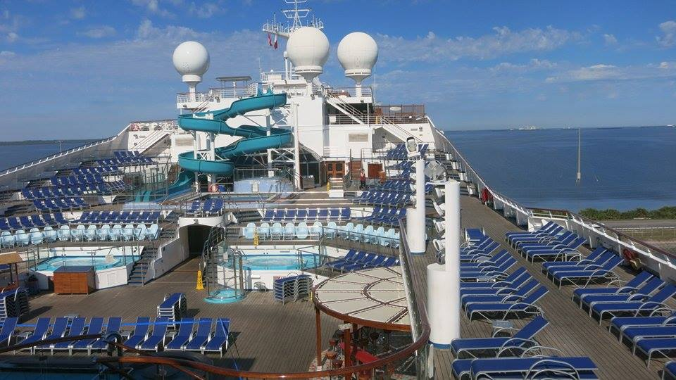 Carnival Valor Crew Members Enjoy A Free Cruise During