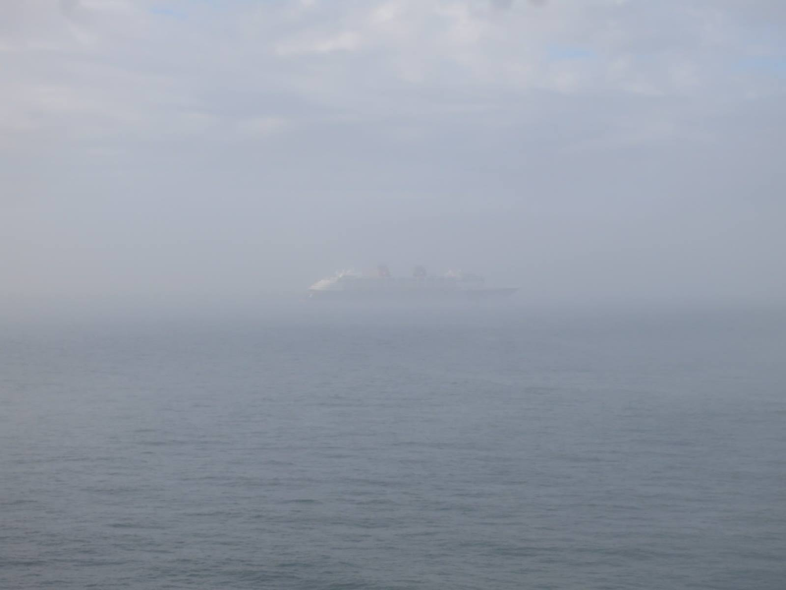 Cruise Ship Fog
