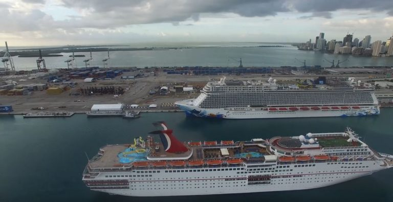 Cruise Ships Are Departing Port Miami, Watch Them All Live