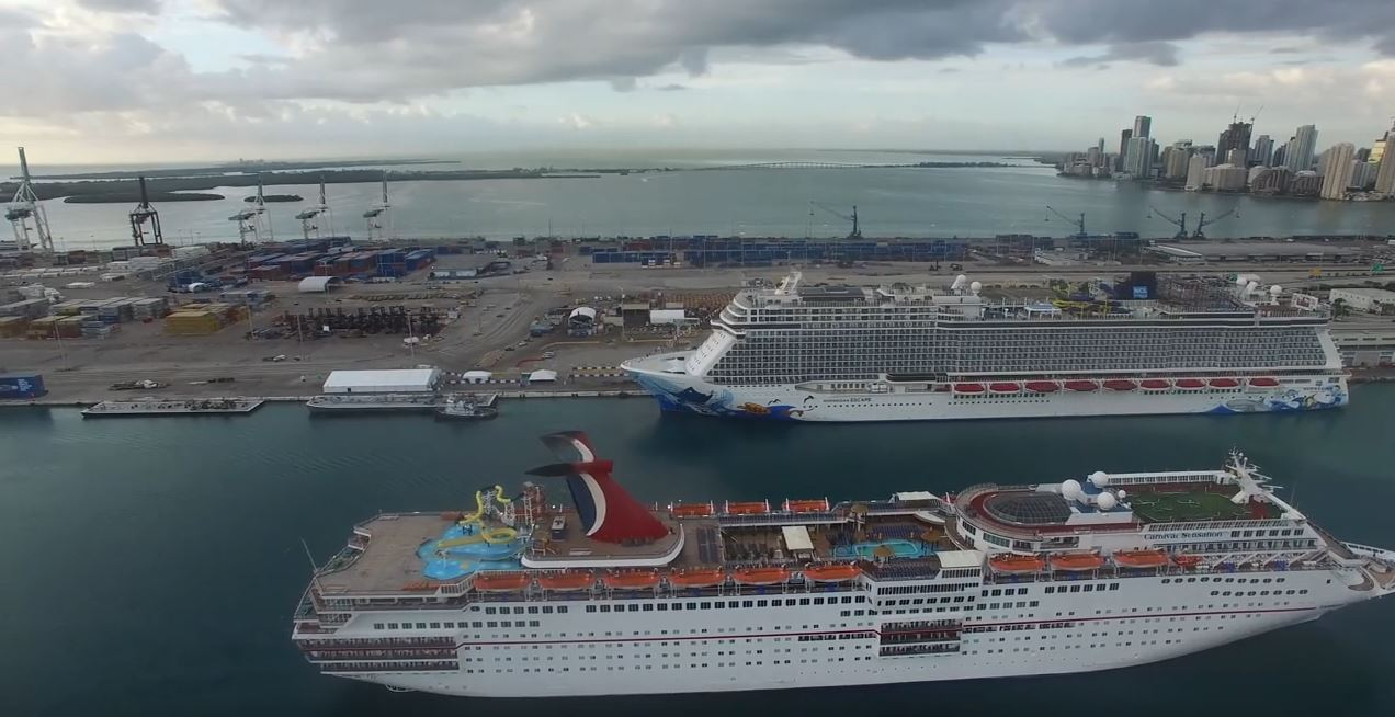 Largest Cruise Ship Out Of Miami New  Punchaoscom
