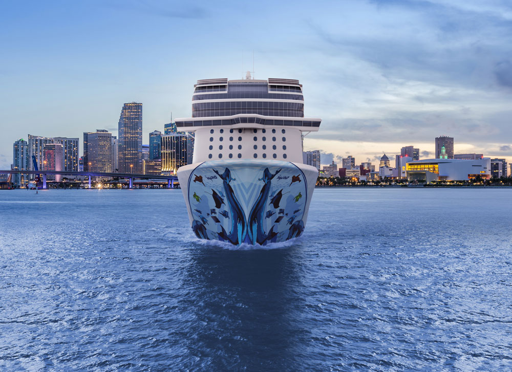 Norwegian Bliss Cruise Ship to Homeport in Miami