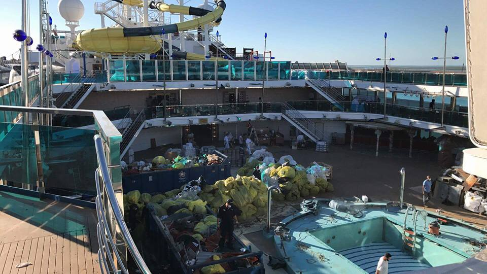 Carnival Dream During Drydock Cruise Hive