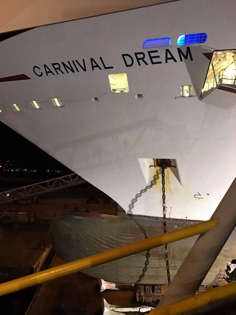 Carnival Dream 1st Time On This Ship March 2 2013: Latest Photos Of Carnival Dream During 2 Week Dry Dock