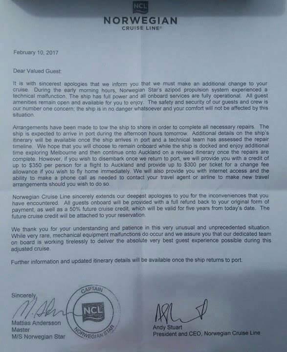 Captain Letter