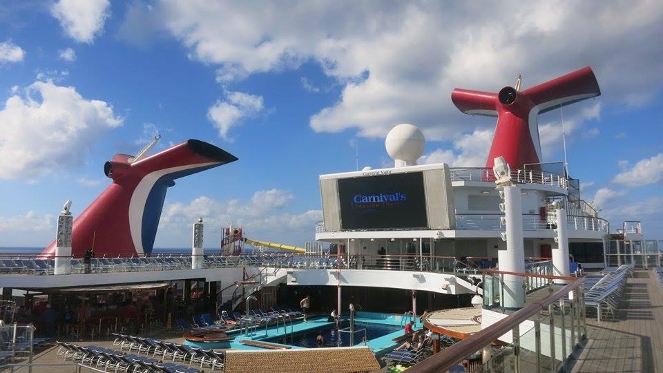 Carnival Ship Funnels