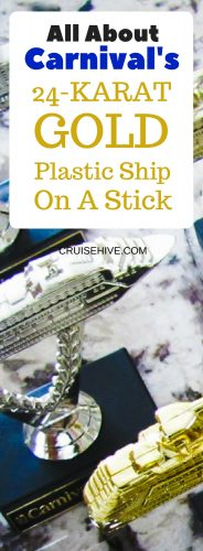 Let's find out more about the legendary Plastic Ship on a Stick from Carnival Cruise Line. A trophy prize which guests can win during their cruise vacation with Carnival.