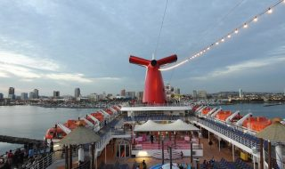 Carnival Cruise Deck