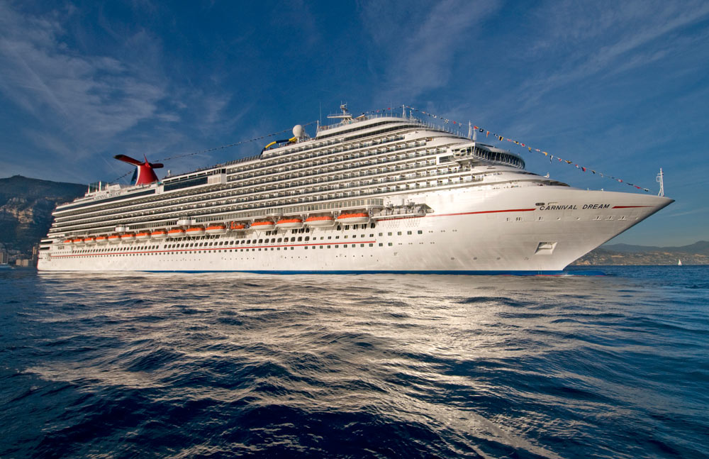 Carnival Dream Completes Dry Dock With New Spaces